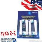 """USA"" 4Pcs Electric Tooth brush Heads Replacement for Braun"
