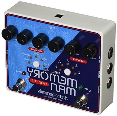 New! Electro Harmonix EHX Deluxe Memory Man 550 Tap Tempo