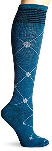 Sockwell Women's Elevation Socks, Teal, Small/Medium