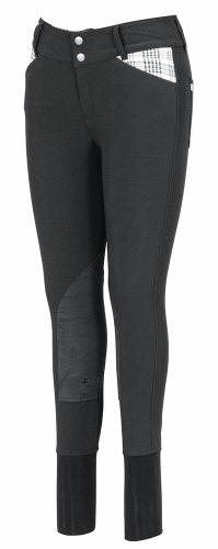 Baker by Equine Couture Women's Elite Breech, Charcoal, 26