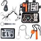 Emergency Survival Kit Outdoor Gear Camping Hiking Travel