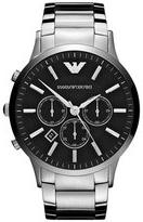 Emporio Armani 'Classic' Large Round Chronograph Watch, 46mm