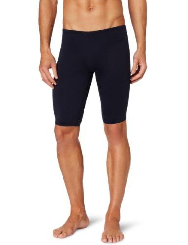 The Finals Men's Enduroteh Stretch Jammer Swimsuit, Black,
