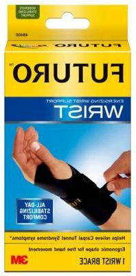 FUTURO Energizing Wrist Support 48402EN, Right Hand, Large/