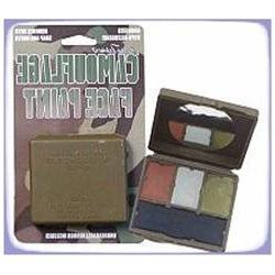 Bobbie Weiner Ent LLC 4000 Camo Face Paint Woodland 4 color