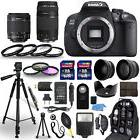 Canon EOS 700D DSLR Camera + 18-55mm STM + 75-300mm + 30