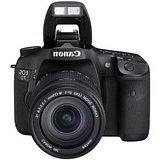 Canon EOS 7D 3814B010 Black Digital SLR Camera w/ EF 28-