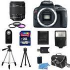 Canon EOS Rebel SL1 / 100D Digital SLR Camera + 18-55mm IS