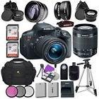 Canon EOS Rebel T5i Digital SLR Camera with Canon EF-S 18-