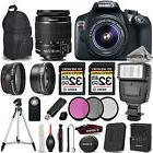 Canon EOS REBEL T6 DSLR Camera + 18-55mm IS + FLASH + UV,