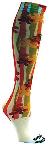 Equine Couture Boot Socks - FLOWER POWER, STD