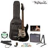 Sawtooth ST-ES-BKC-KIT-3 Black Electric Guitar with Chrome