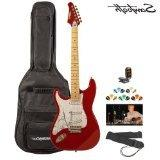Sawtooth ST-ES-CARP-KIT-2 Candy Apple Red Electric Guitar