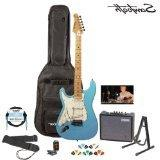 Sawtooth ST-ES-DBLP-KIT-3 Daphne Blue Electric Guitar with