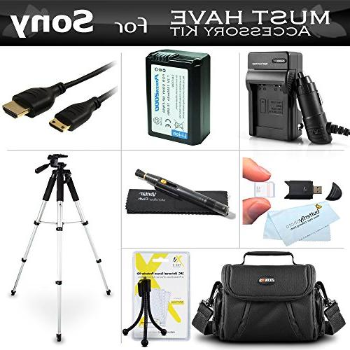 Essential Accessories Kit For Nikon COOLPIX AW120, AW110,