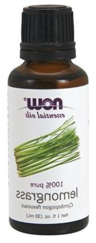 Now Foods Essential Oils, Lemongrass Oil, 1 fl oz