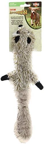 Ethical Pets Mini Skinneeez Raccoon 14-Inch Stuffingless