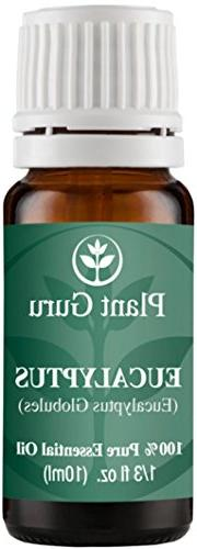 Eucalyptus Essential Oil. 10 ml. 100% Pure, Undiluted,