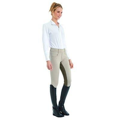 Ovation Euro Pull On Tights - Ladies Full Seat - Size:Small