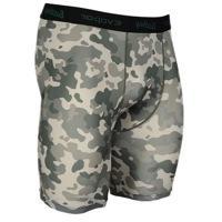 "Eastbay EVAPOR Printed 8"" Compression Shorts - Mens - Green"