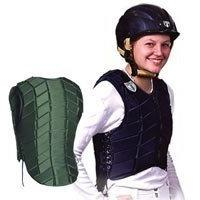 Eventer Vest Youth Medium Black