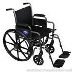 Medline Excel K1 - 20 Inch Basic Extra-Wide Wheelchair