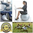 Exercise Ball Chair 75cm 85cm Balance Adjustable Yoga