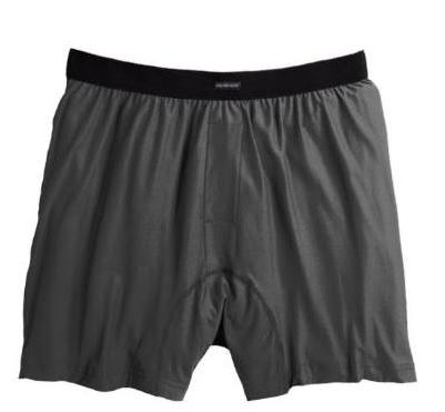 ExOfficio Men's Boxers Charcoal - Size Medium
