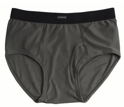ExOfficio Men's Briefs Charcoal - Size Large
