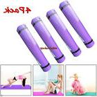 4 Pack Extra 6mm Thick Non-slip Yoga Mat Pad Exercise