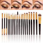 20PCS Eye Brushes Set Eyeshadow Blending Pencil Brush Make