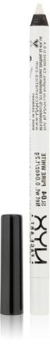 NYX Eye Liner Pencil, Pure White, .04 oz