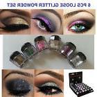 5 NEW Eye shadow Color Makeup PRO GLITTER Eyeshadow PALETTE