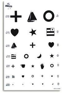 Eye Test Kindergarten Chart: EYE TEST CHART KNDRGTN FOR CAB