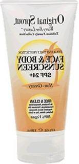 Original Sprout Face & Body SPF 27 Sunscreen