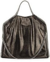 Stella McCartney Falabella Fold-Over Tote, Ruthemium