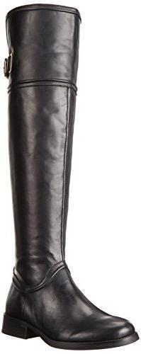 Vince Camuto Women's Fantasia Black Knee-High Leather Boot