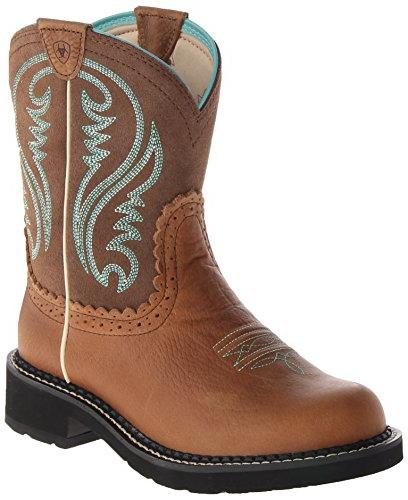 Ariat Women's Fatbaby Heritage Western Cowboy Boot, Vintage Bomber/Pink Camo, 6.5 M US