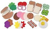 Felt Food-Sandwich Play Set
