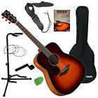 Yamaha FG800 Acoustic Guitar - Brown Sunburst GUITAR