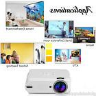 1000 Lumens FHD 3D Home Theater LED Multimedia LCD Projector