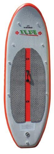 Solstice Fiji Inflatable Stand Up Paddleboard, Red/Grey, 8-