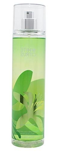 Bath and Body Works Fine Fragrance Mist, White Citrus, 8.0