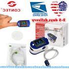 24H Fingertip Pulse Oximeter recorder Sleep study,Alarm,SpO2