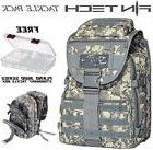 FINN TECH Fisherman Backpack Camo Tackle Box Pack + FREE