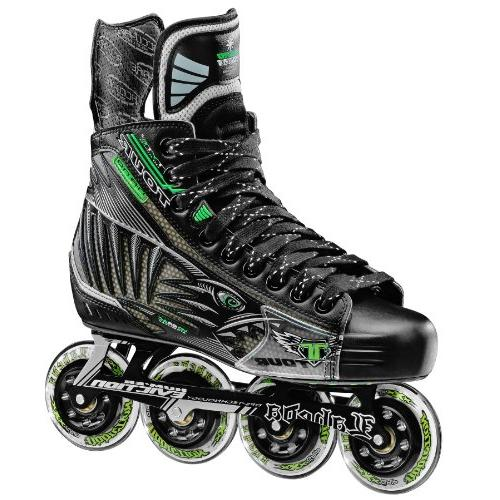 Tour Hockey Pro Fish Bonelite Inline Hockey Skate, Black, 6