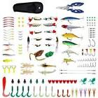241 pcs Fishing Lure Tackle Set Lures Hard/Soft Spinner