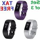 Fitbit Charge 2HR+Fitness Replacement Bands 3 Set Wristband