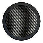 "Fits a 4"" to 5"" Diameter 2-Pc Mesh Speaker Grill - Black"