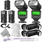 Professional Flash Kit for NIKON DSLR - 2 I-TTL Flash &